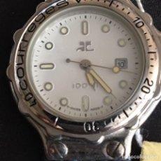 Relojes automáticos: RELOJ COURREGES FUNCIONA NUEVO. Lote 95224051