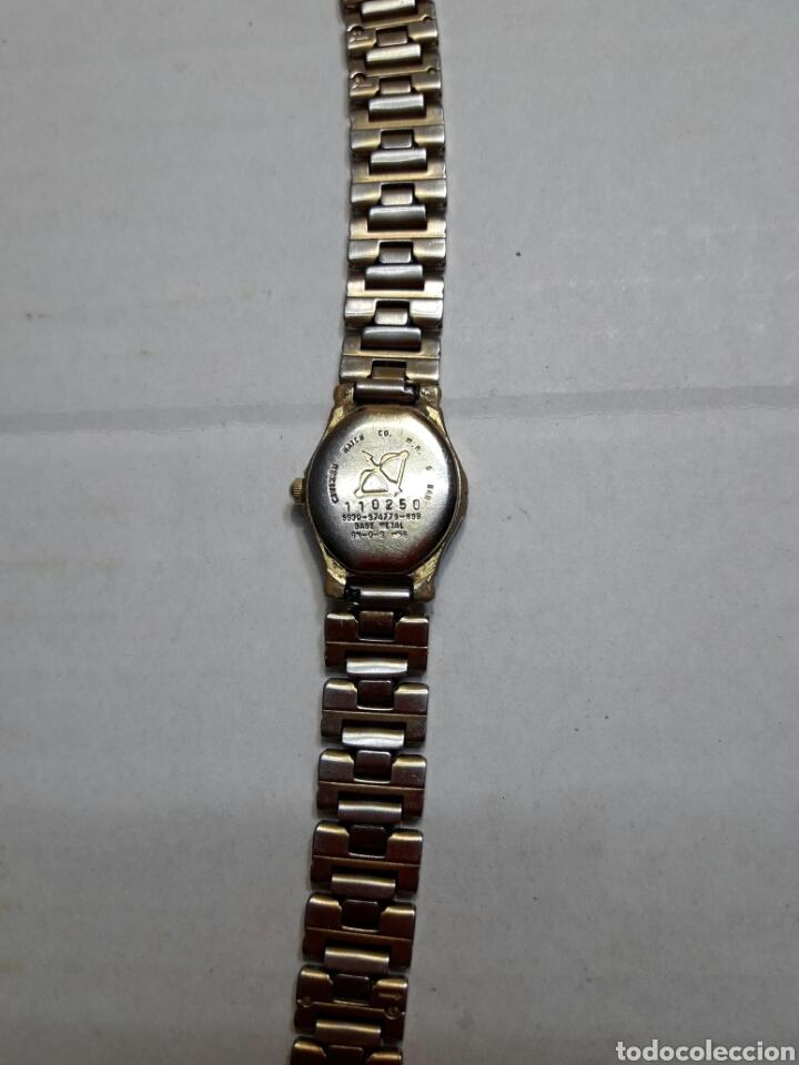 Relojes automáticos: Reloj antiguo señora Citizen Quartz WR 50 funcionando - Foto 3 - 95229082