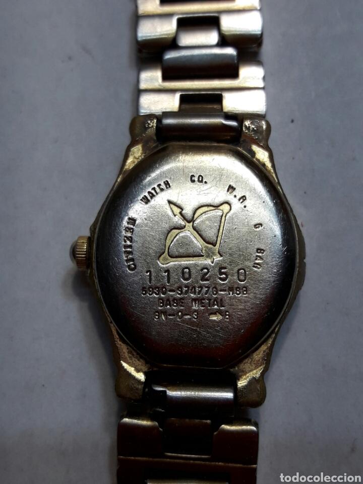 Relojes automáticos: Reloj antiguo señora Citizen Quartz WR 50 funcionando - Foto 4 - 95229082