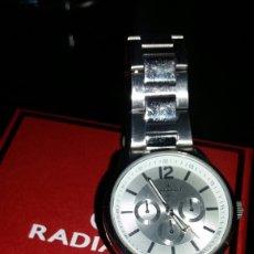 Relojes automáticos: RELOJ RADIANT WATER RESISTANT 5 ATM CROMO- NICKEL CABALLERO. Lote 109140630