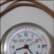 Relojes automáticos: RELOJ SAINT DENIS DE EMFERMERA CON MÚLTIPLES FUNCIONES..PULSACIONES .ETC.. Lote 96398063