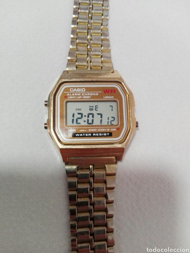 308ad5505d90 reloj casio pequeno dorado