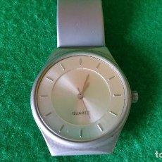 Relojes automáticos: RELOJ CABALLERO QUARTZ PLATEADO. Lote 97426819
