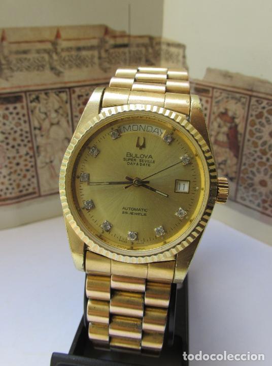 BULOVA SUPER SEVILLE DAY & DATE PRESIDENT (Relojes - Relojes Automáticos)