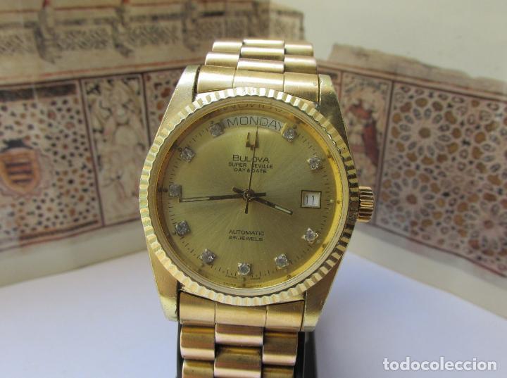 Relojes automáticos: Bulova Super Seville day & date president - Foto 3 - 97803935