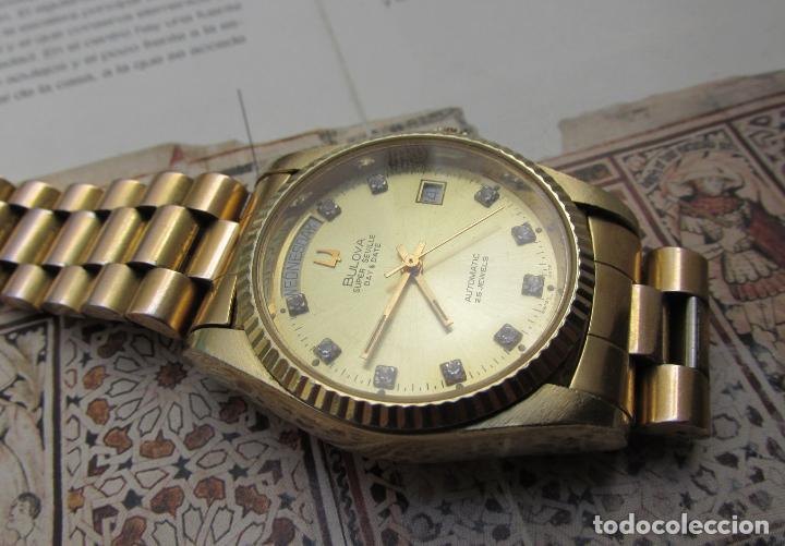 Relojes automáticos: Bulova Super Seville day & date president - Foto 5 - 97803935