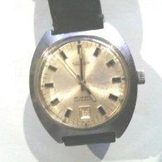 Relojes automáticos: RELOJ SUIZO PULSERA AUTOMÁTICO VALORUS CALENDARIO, FUNCIONA . MED. 38 MM SIN CONTAR CORONA. Lote 98180663