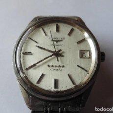 Relojes automáticos: MAGNIFICO RELOJ ANTIGUO LONGINES ADMIRAL AUTOMATICO DE HOMBRE,SALIDA 1 EURO. Lote 98206007