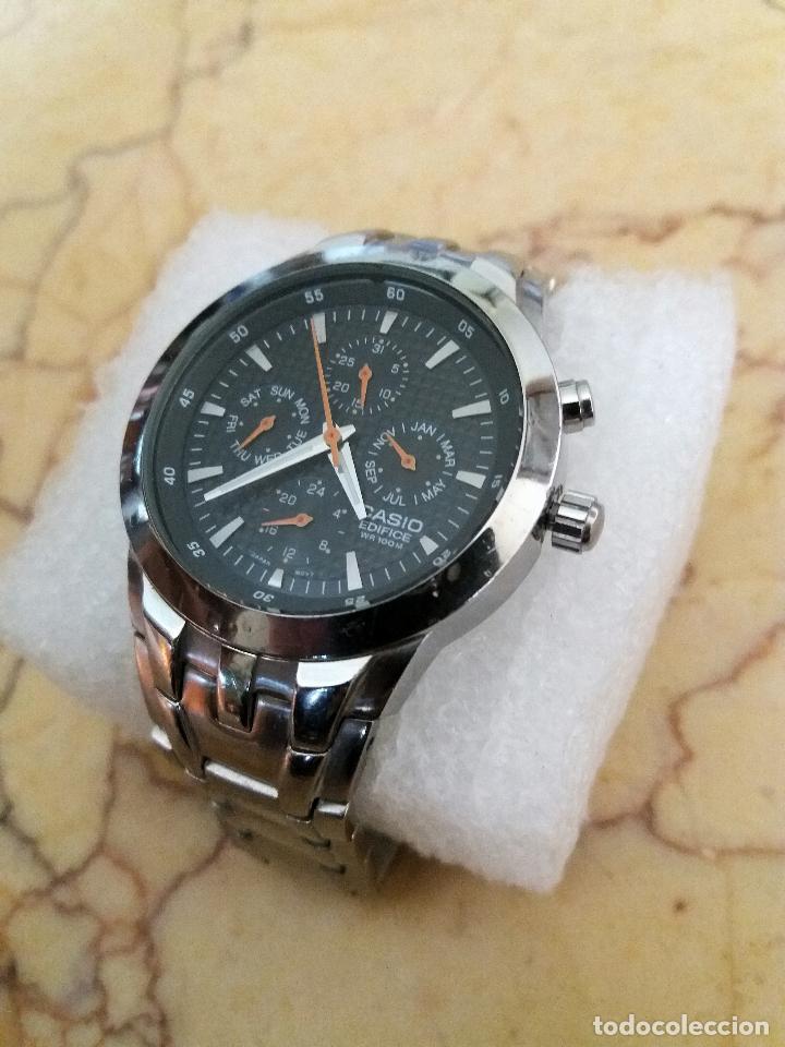 e60337c52a19 Reloj casio edifice . 39 mm. multifunción. como - Sold at Auction ...