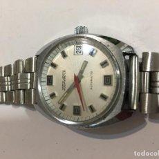 Relojes automáticos: RELOJ AUTOMÁTICO JOCAWACH EN ACERO COMPLETO EN FUNCIONAMIENTO . Lote 98657535