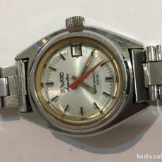 Relojes automáticos: RELOJ DUWARD AUTOMÁTICO AQUASTAR EN ACERO COMPLETO . Lote 98658271