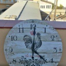 Relojes automáticos: RELOJ DE PARED GALLO.. Lote 98805131