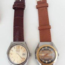 Relojes automáticos: 2 RELOJES THERMIDOR CABALLERO AUTOMATICO Y CUERDA FUNCIONANDO SALIDA 1 CENTIMO. Lote 98841871