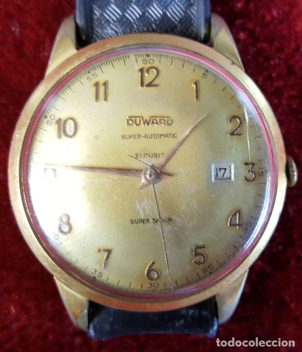 Relojes automáticos: RELOJ DE PULSERA. DUWARD SUPER AUTOMATIC. SUPER SCHOCK. 21 RUBIS. AÑOS 30/40 - Foto 4 - 98869651