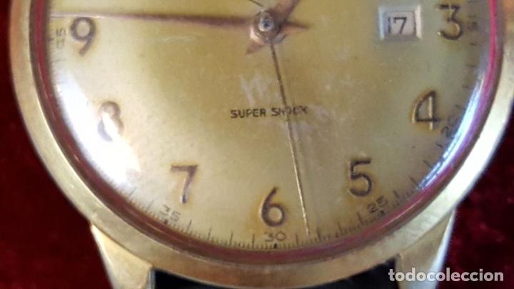 Relojes automáticos: RELOJ DE PULSERA. DUWARD SUPER AUTOMATIC. SUPER SCHOCK. 21 RUBIS. AÑOS 30/40 - Foto 8 - 98869651