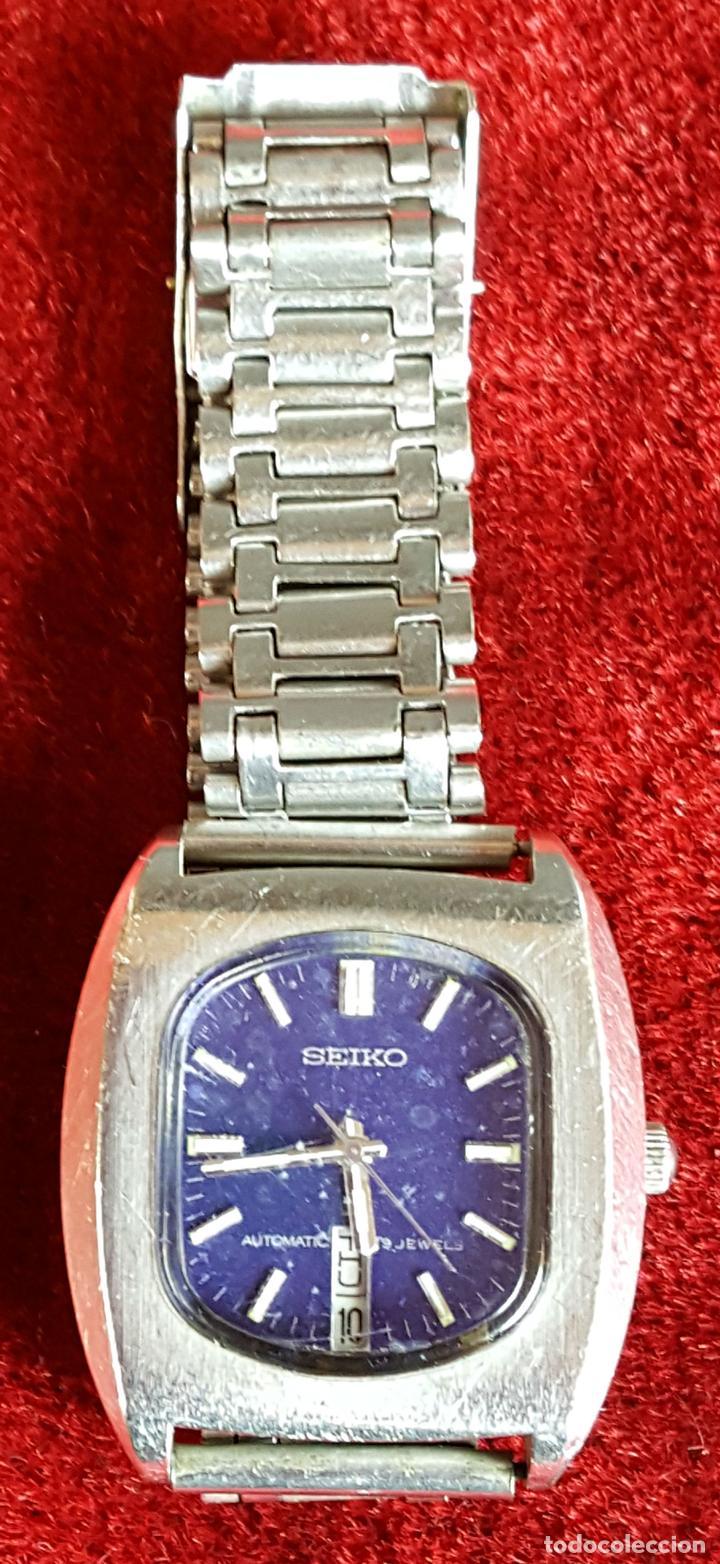 RELOJ DE PULSERA. SEIKO. AUTOMATIC. 19 JEWELS. ACERO INOXIDABLE. CIRCA 1970. (Relojes - Relojes Automáticos)