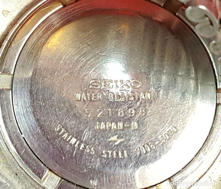 Relojes automáticos: RELOJ DE PULSERA. SEIKO. AUTOMATIC. 19 JEWELS. ACERO INOXIDABLE. CIRCA 1970. - Foto 2 - 98938935