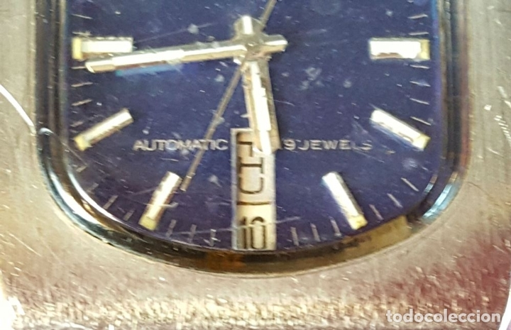 Relojes automáticos: RELOJ DE PULSERA. SEIKO. AUTOMATIC. 19 JEWELS. ACERO INOXIDABLE. CIRCA 1970. - Foto 4 - 98938935