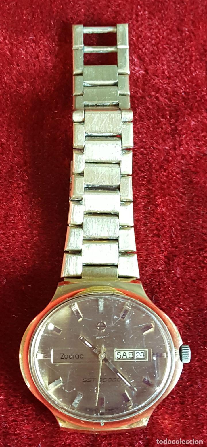 RELOJ DE PULSERA. ZODIAC SST 36000. CHAPADO EN ORO 20 MICRONS. CIRCA 1970. (Relojes - Relojes Automáticos)
