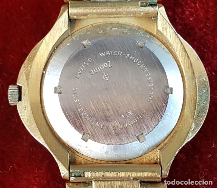 Relojes automáticos: RELOJ DE PULSERA. ZODIAC SST 36000. CHAPADO EN ORO 20 MICRONS. CIRCA 1970. - Foto 5 - 99416191