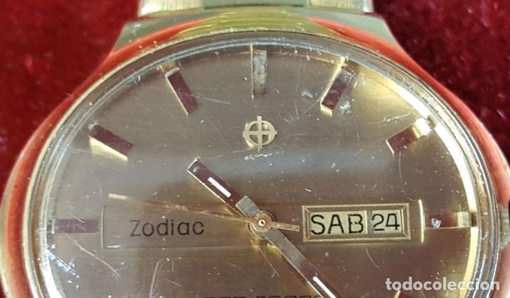Relojes automáticos: RELOJ DE PULSERA. ZODIAC SST 36000. CHAPADO EN ORO 20 MICRONS. CIRCA 1970. - Foto 6 - 99416191