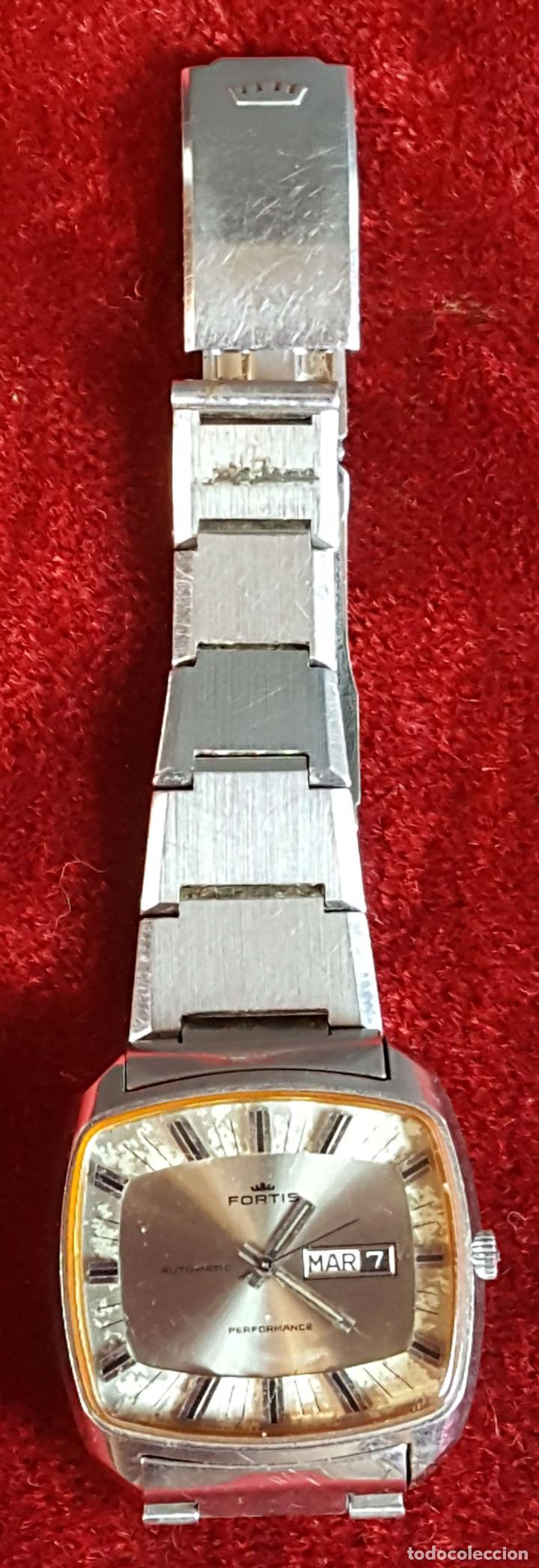 RELOJ DE PULSERA. FORTIS. MODELO PERFORMANCE. AUTOMÁTICO. CIRCA 1970. (Relojes - Relojes Automáticos)