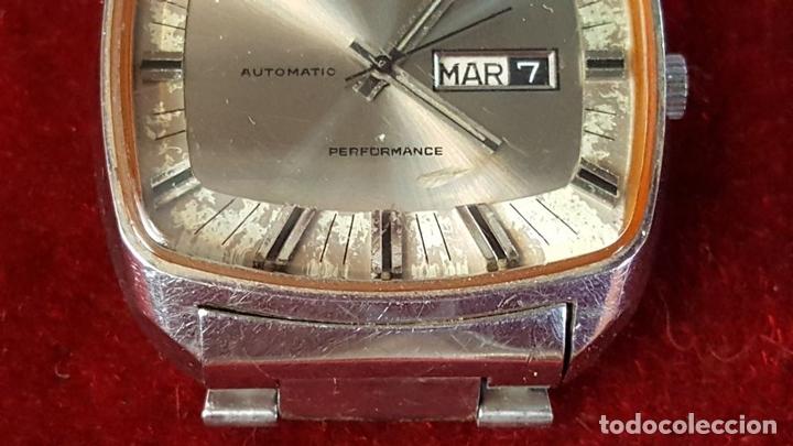 Relojes automáticos: RELOJ DE PULSERA. FORTIS. MODELO PERFORMANCE. AUTOMÁTICO. CIRCA 1970. - Foto 5 - 99420943