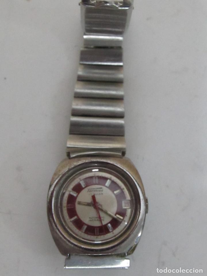 RELOJ DE ACERO TORMAS AUTOMÁTICO, 17 RUBIS (Relojes - Relojes Automáticos)