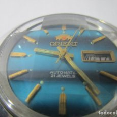 Relojes automáticos: ANTIGUO RELOJ ORIENT 21 JEWELS AUTOMATICO HOMBRE VINTAGE 40MM WU. Lote 100005527