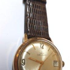 Relojes automáticos: RELOJ DELCAR CUERDA MANUAL - FUNCIONANDO. Lote 100258011