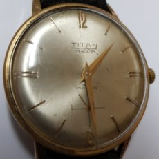 Relojes automáticos: RELOJ TITAN - CUERDA MANUAL - FUNCIONANDO. Lote 100260827