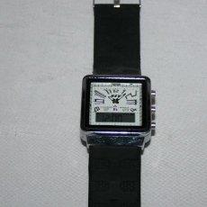 Relojes automáticos: BONITO Y CURIOSO RELOJ GRANDE DE PULSERA NEV, ANALOGICO Y DIGITAL, FUNCIONANDO. Lote 101029819