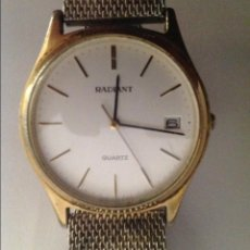 Relojes automáticos: RELOJ CON CALENDARIO PULSERA RADIANT. Lote 101549110