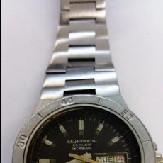 Relojes automáticos: RELOJ TIPO BUCEO CAUNYMATIC. Lote 101558855