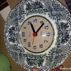 Relojes automáticos: RELOJ EN PLATO LA CARTUJA. Lote 101664931