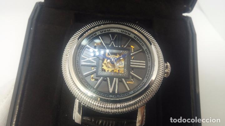 Relojes automáticos: Reloj Skeleton automatic, de caballero, seminuevo, muy bello. - Foto 3 - 101949063