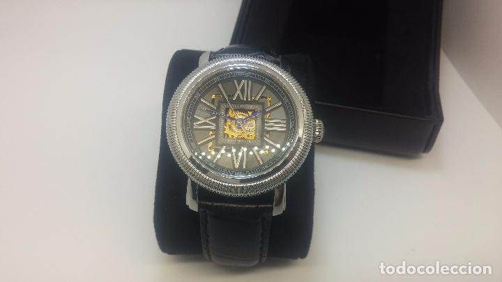 Relojes automáticos: Reloj Skeleton automatic, de caballero, seminuevo, muy bello. - Foto 4 - 101949063