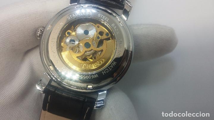 Relojes automáticos: Reloj Skeleton automatic, de caballero, seminuevo, muy bello. - Foto 8 - 101949063