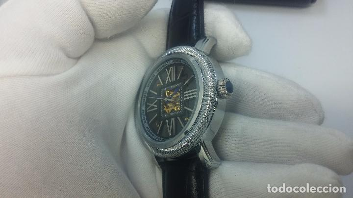 Relojes automáticos: Reloj Skeleton automatic, de caballero, seminuevo, muy bello. - Foto 13 - 101949063
