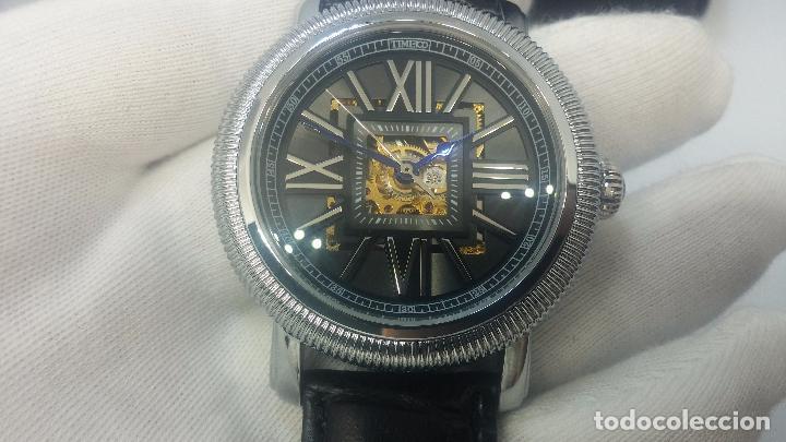 Relojes automáticos: Reloj Skeleton automatic, de caballero, seminuevo, muy bello. - Foto 15 - 101949063