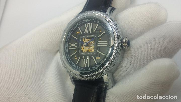 Relojes automáticos: Reloj Skeleton automatic, de caballero, seminuevo, muy bello. - Foto 18 - 101949063