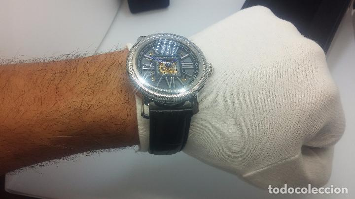 Relojes automáticos: Reloj Skeleton automatic, de caballero, seminuevo, muy bello. - Foto 27 - 101949063
