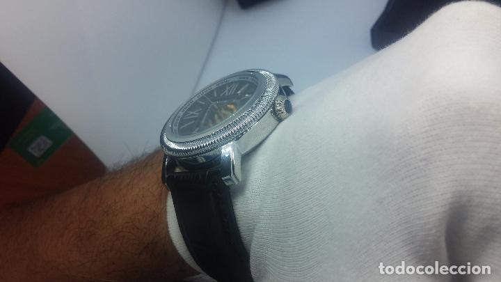 Relojes automáticos: Reloj Skeleton automatic, de caballero, seminuevo, muy bello. - Foto 29 - 101949063
