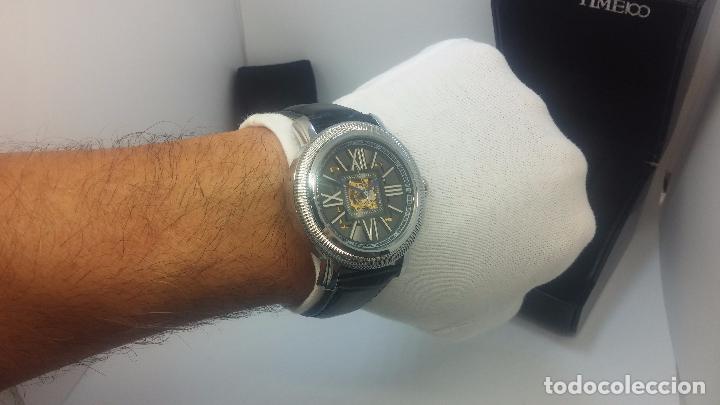 Relojes automáticos: Reloj Skeleton automatic, de caballero, seminuevo, muy bello. - Foto 32 - 101949063