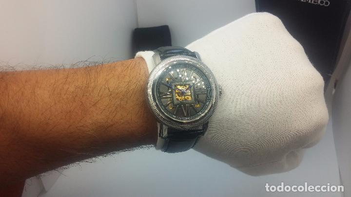 Relojes automáticos: Reloj Skeleton automatic, de caballero, seminuevo, muy bello. - Foto 33 - 101949063