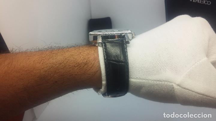 Relojes automáticos: Reloj Skeleton automatic, de caballero, seminuevo, muy bello. - Foto 36 - 101949063