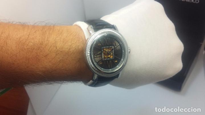 Relojes automáticos: Reloj Skeleton automatic, de caballero, seminuevo, muy bello. - Foto 40 - 101949063