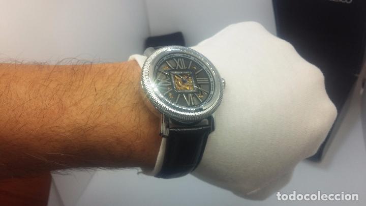 Relojes automáticos: Reloj Skeleton automatic, de caballero, seminuevo, muy bello. - Foto 41 - 101949063