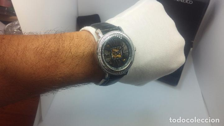 Relojes automáticos: Reloj Skeleton automatic, de caballero, seminuevo, muy bello. - Foto 49 - 101949063