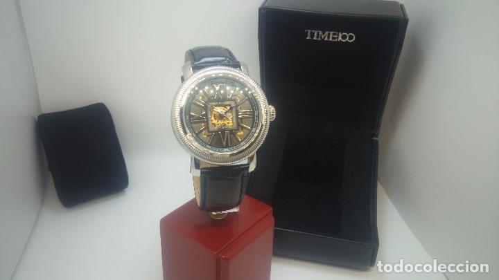 Relojes automáticos: Reloj Skeleton automatic, de caballero, seminuevo, muy bello. - Foto 51 - 101949063
